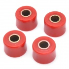 Plastic Wheel Hub Buffer for Honda CG125 / CG150 - Red (4 PCS)