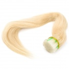Real Human Straight Fusion Hair Extensions - White (55cm / 200 Bundles)