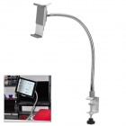 Universal Flexible Cantilever Stand Holder Support for iPad / Tablet PC - White