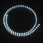 Waterproof 7.2W 210lm 72-LED White Light Car Decoration Flexible Strip Lamp (12V)