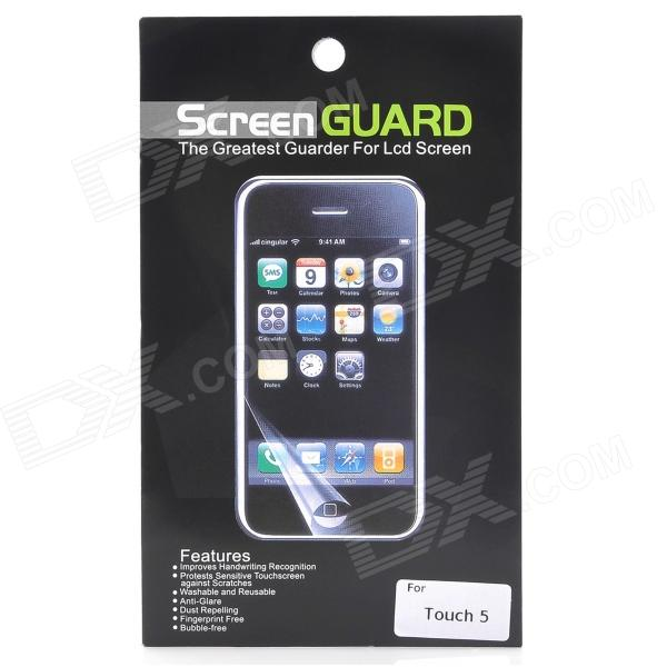 Protective Glossy Screen Protector Guard Set for Ipod Touch 5 (2 PCS) 20piece 100
