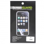 Protective Glossy Screen Protector Guard + Sticker Set for Iphone 5