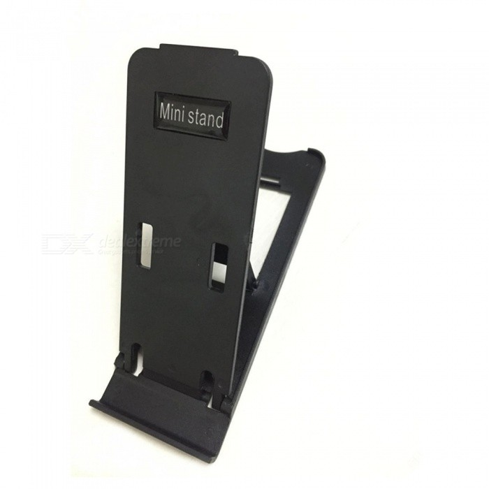 все цены на Portable Folding Adjustable Stand Holder for Ipad / Mobile Phone - Black онлайн