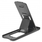 Portable Folding Adjustable Stand Holder for Ipad / Mobile Phone - Black