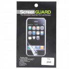 Protective Glossy Screen Protector Guard + Back Sticker for Iphone 5