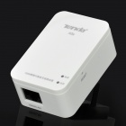 TENDA A5s Portable 2.4GHz 802.11b/g/n Wireless Router w/ 2-Pin-Plug - White (AC 100~240V)
