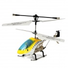 Rechargeable 3.5-CH IR Remote Controlled R/C Helicopter w/ Gyro - Yellow + Blue + White