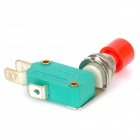 Push Button DIY Micro Switch - Rojo