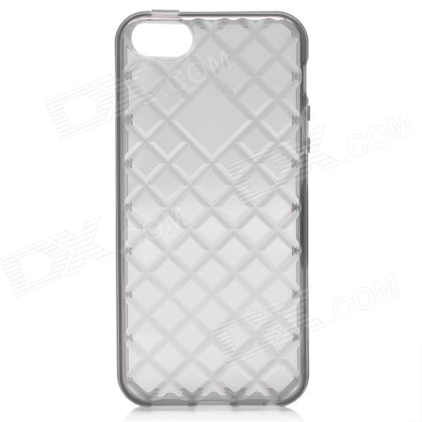 Protective TPU Case for Iphone 5 - Translucent Black protective silicone case for nds lite translucent white