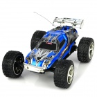 WLTOYS RechargeableTop Speed Remote Controlled R/C Racing Car - Blue