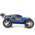 WLTOYS 2019 Rechargeable 2-CH Top Speed 27~40MHz Remote Controlled R/C Racing Car - Blue