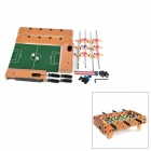 Plastic Football Table Family Game - Brown + Blue