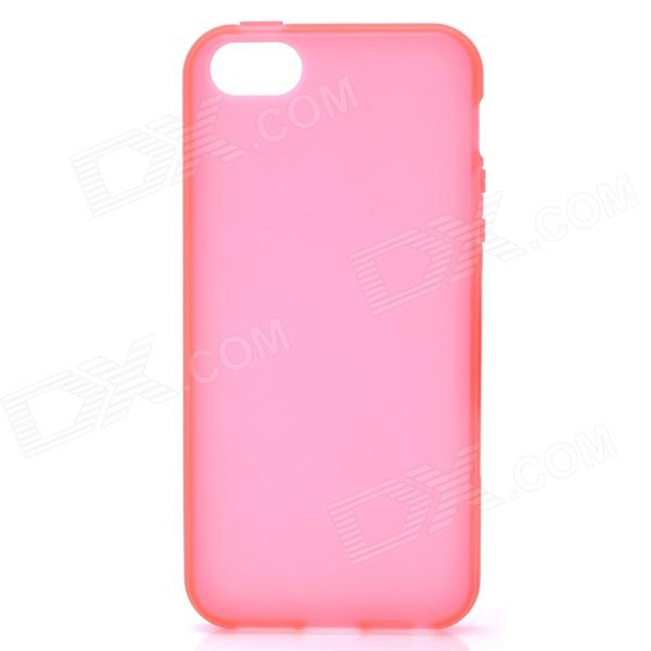 все цены на  Protective Frosted Plastic Back Case for Iphone 5 - Red  онлайн