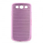 Protective Aluminum + ABS Back Case for Samsung Galaxy S3 i9300 - Pink