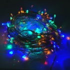 15W 200-LED 8-Mode Multicolored Light Decorative String Light - White
