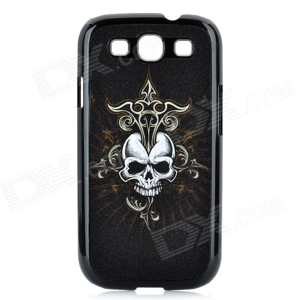 Magic Skull Pattern Protective Plastic Case for Samsung Galaxy S3 i9300 - Black стоимость