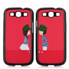 Protective Red Army Lovers Pattern Case for Samsung i9300