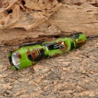 UltraFire WF-501B 385lm 1-Mode White Light Flashlight - Camouflage Green (1 x 18650)