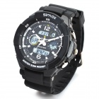 Sports Diving Wrist Watch w/ EL Backlight / Stopwatch / Alarm Clock (1 x CR2025 / 1 x LR626)