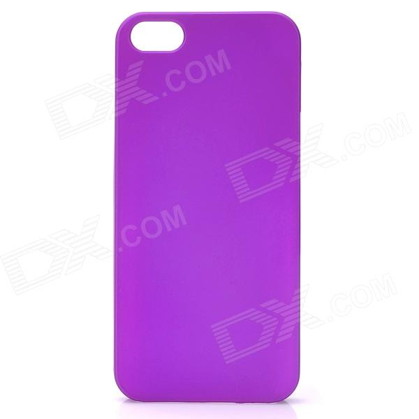 Protective PC Plastic Hard Case for Iphone 5 - Purple защитный чехол pacha sunrise cherries hard case для iphone 5