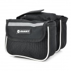 Stylish Bike Bicycle Tube Frame Bag - Black