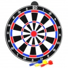 SD053641 Magnetic Dartboard - Black + Red + Blue + White