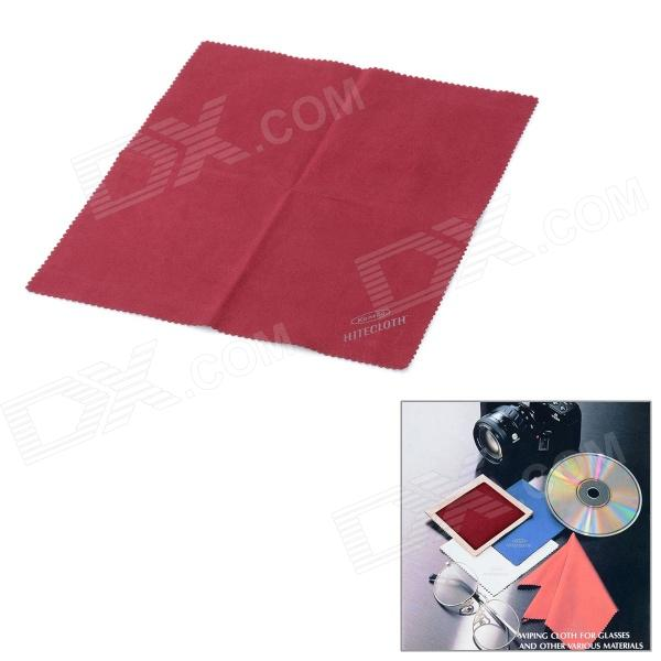 KANEBO Professional Polyester + Nylon Lens Wiping Cloth - Deep Red