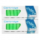 Elektronische Zigarette Vitamin C Grape Flavor Cartridge Refills - Green (2 x 10 Stück)