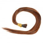 Real Human Hair Straight Fusion Hair Extensions - Copper Red (55cm)