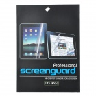 Protective Matte Screen Protector Guard Film w/ Cleaning Cloth for Asus TF101 / TF201 - Transparent