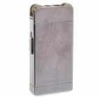 BCZ369-1 Stainless Steel Windproof Dual-Flame Gas Lighter - Silver