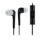 CCY 6300 In-Ear Earphone w/ Microphone - Black (2.5mm Plug / 120cm)
