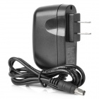 12V 1.5A Universal Power Adapter Charger - Black (AC 100~240V / 2-Flat-Pin Plug / 5.5 x 2.1mm)