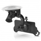 360 Degree Rotation ABS + PC Car Mount for Iphone 5 - Black