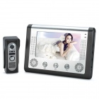 "SY801M11 7"" TFT LCD Color Video Door Phone w/ IR Night Vision - Grey + Silver"