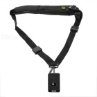 Universal Anti-Slip Quick Sling Shoulder Belt Quick Strap for DSLR - Black