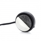 Universal Lens Cover Cap Holder Strap for DSLR - Black