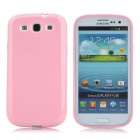 Protective Matte Plastic Back Case for Samsung Galaxy S3 i9300 - Pink