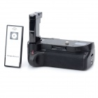 Multi Vertical External Battery Grip Holder w/ IR Remote Control for Nikon D3100 - Black