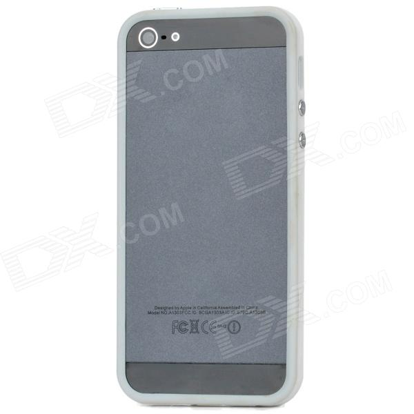 Stylish Protective Bumper Frame for Iphone 5 - White