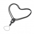 180 Degrees Rotation Cell Phone Strap - Black