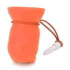Multi-Function Cute Dog Style Stand Holder for Iphone 4 / 4S + More - Orange