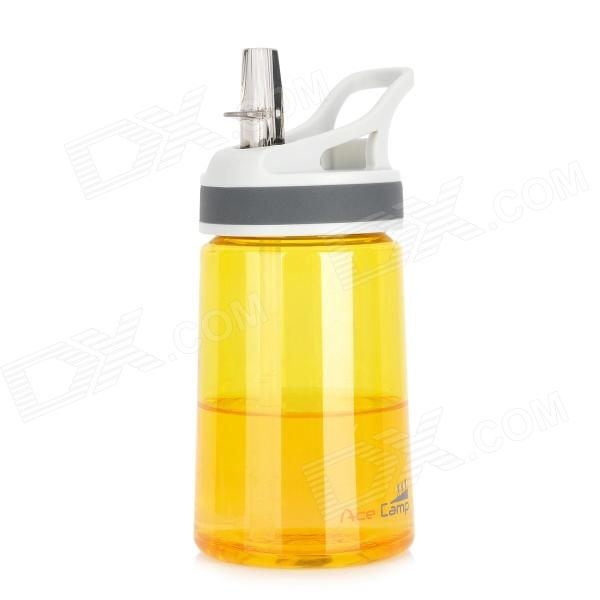 Acecamp 1551 Travel Sports Water Bottle Kettle Cup - Transparent Yellow (350ml)