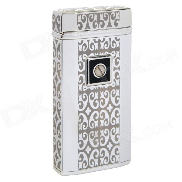 Elegant Touch Sensor Windproof Butane Gas Lighter - Silver (1 x LR44) jiahui tcrt5000 photoelectric sensor module black silver