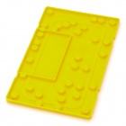 Screw Holes Distribution Disassemble Memory Board for Iphone 4S - Yellow