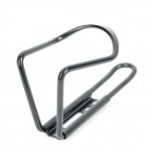Aluminum Alloy Bicycle Water Bottle Cage Bracket - Black + Silver (2 PCS)