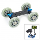 Debo DS-001 Kamera Tabletop Dolly Skater - Grey