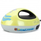 CTT CVC-168 Ultraviolet UV Sterilization Bed Clothes Vacuum Cleaner - Yellow