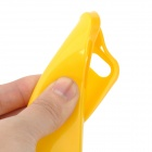 Protective Silicone Back Case for Iphone 5 - Yellow