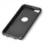 Protective TPU Soft Back Case Cover for Ipod Touch 5 - Black